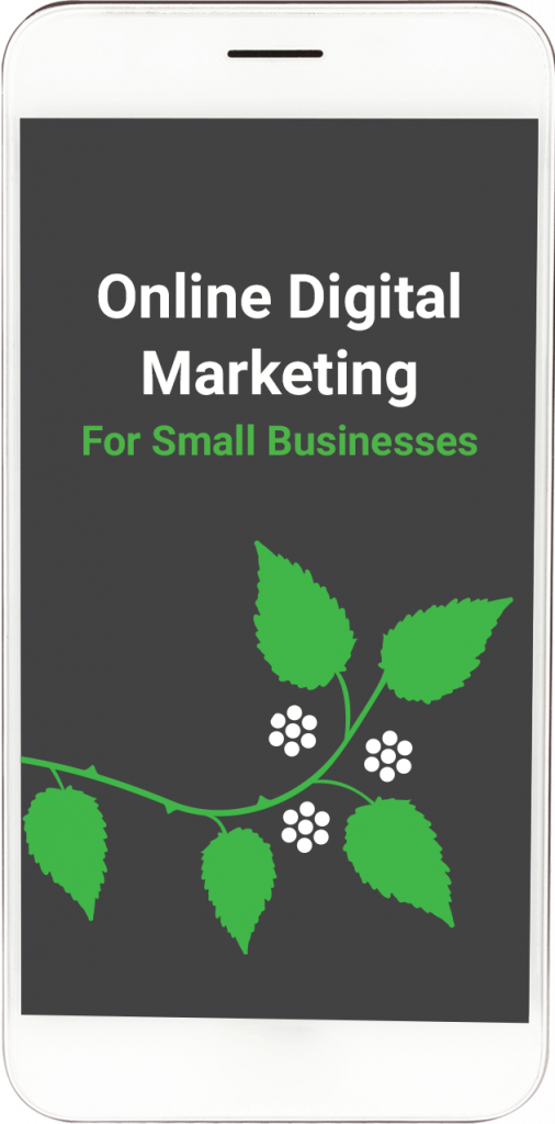 iPhone screen - Online Digital Marketing